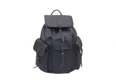 mahiout hunting backpack in waxec cotton canvas, leahter and solid brass fittings, //www.mahiout.com, //www.contractor48.com