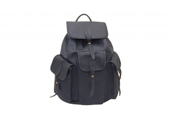 mahiout hunting backpack in waxec cotton canvas, leahter and solid brass fittings, http://www.mahiout.com, http://www.contractor48.com