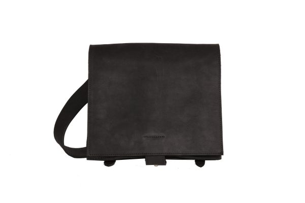 mahiout bags, waterloo bag in black leahter and solid brass fittings, http://www.mahiout.com, http://www.contractor48.com