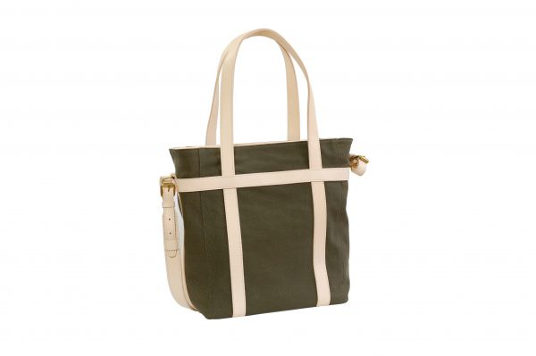 mahiout bag, cotton canvas, natural tanne leather, solid brass fittings, http://www.mahiout.com, Http://www.contractor48.com