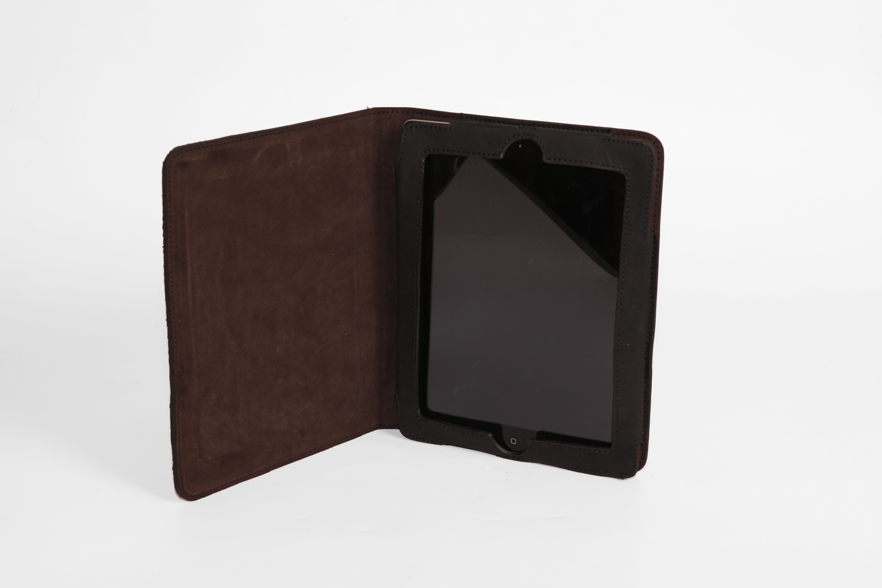 MAHIOUT, I FIELD IPAD CASE, SALMON SKIN AND NUBUCK