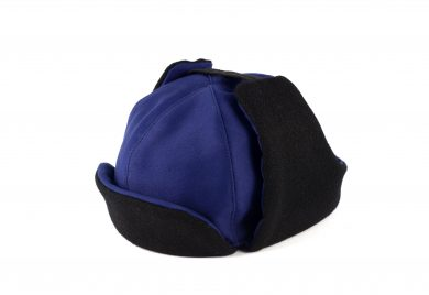 Fabrication Locale Mishka hat in moleskin and harris tweed contractor48