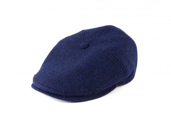 fabrication locale Evander CW cap in harris tweed