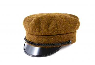 fabrication Locale Radoslaw cap in harris tweed