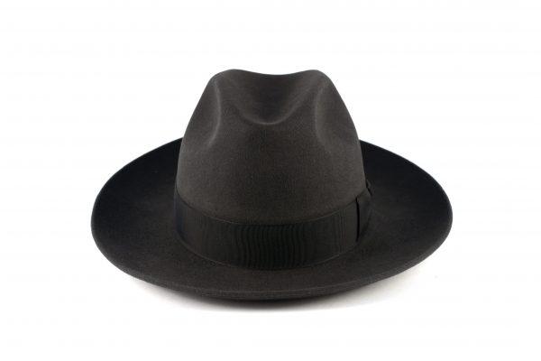 Fabrication Locale Lucky fedora hat in fur felt