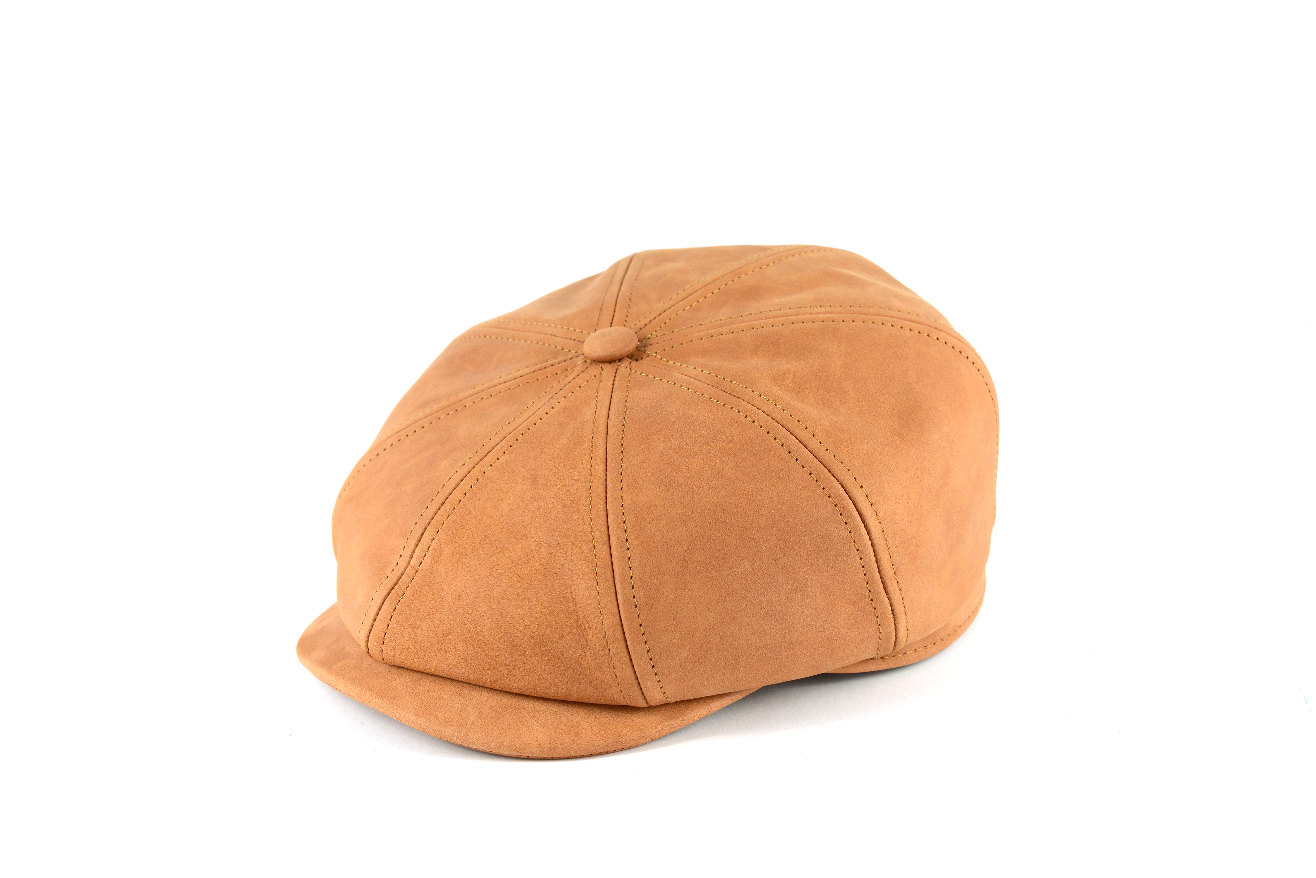 Fabrication Locale Cathal cap in leather