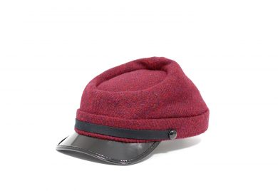 Fabrication Locale Jesse cap in harris tweed contractor48