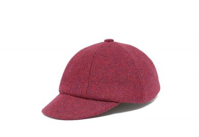 Fabrication Locale Edward cap in Harris tweed contractor48