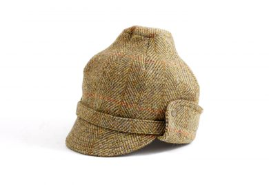 fabrication locale Ivane cap in harris tweed
