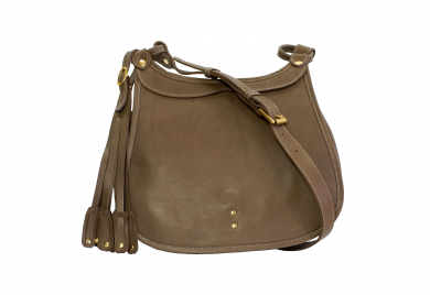 Mahiout hawk bag in leather