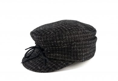 Fabrication Locale Irwen cap in harris tweed contractor48