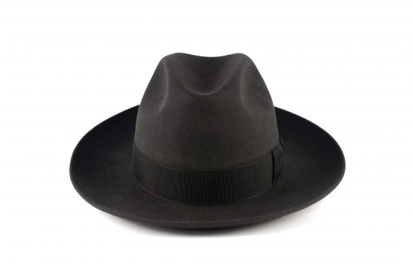 Fabrication Locale Lucky fedora hat in fur felt
