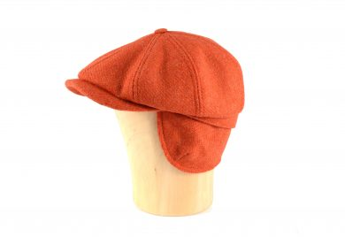 Fabrication Locale cathal CW eight panel cap in harris tweed
