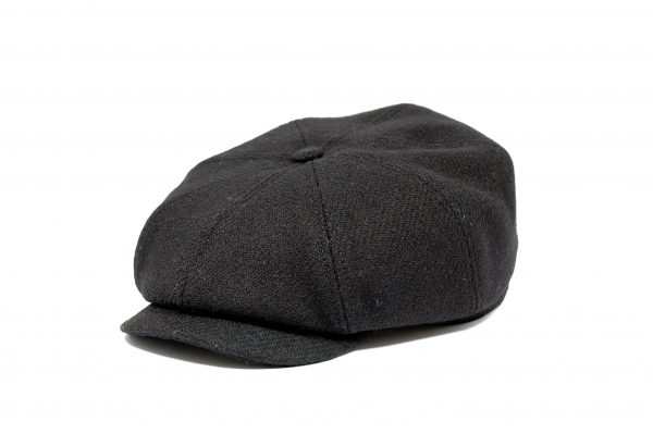 Fabrication Locale cathal eight panel cap in harris tweed