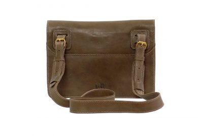 mahiout courier bag in leather