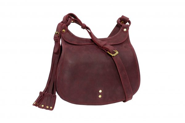 mahiout hawk bag in leather